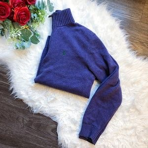 POLO RALPH LAUREN KNIT PULLOVER SWEATER